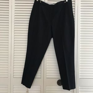 Brooks Bros. Red Fleece Pants, NWT, Black, Sz 14